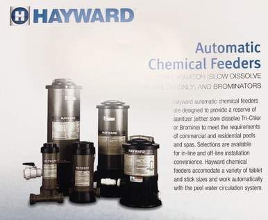 HAYWARD-AUTOMATIC-CHEMICAL-FEEDERS